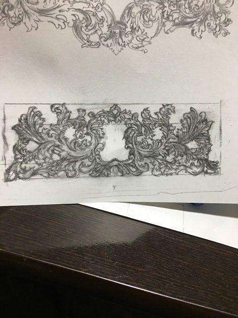 ヴィクトリアンデザイン画