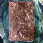 銅板への試し彫り
