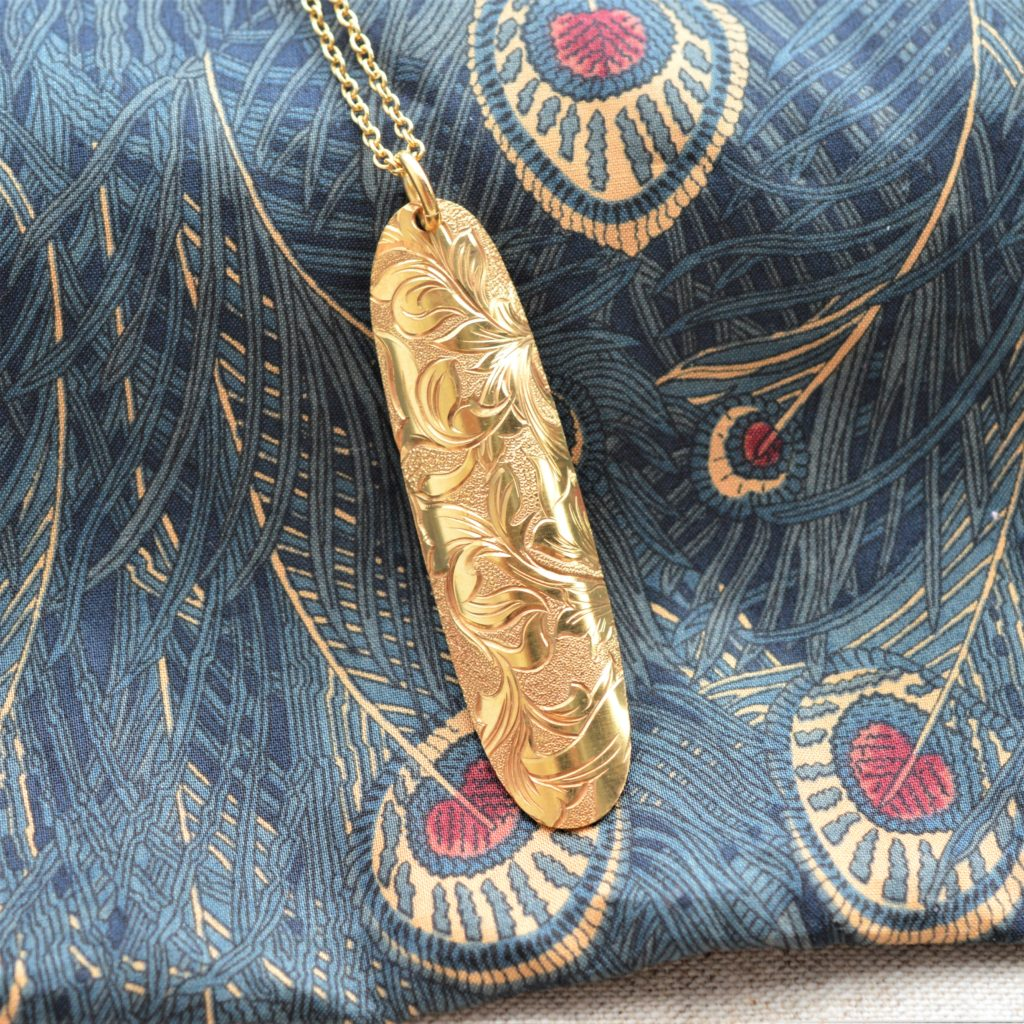 Passione -パッショーネ-彫金ネックレス