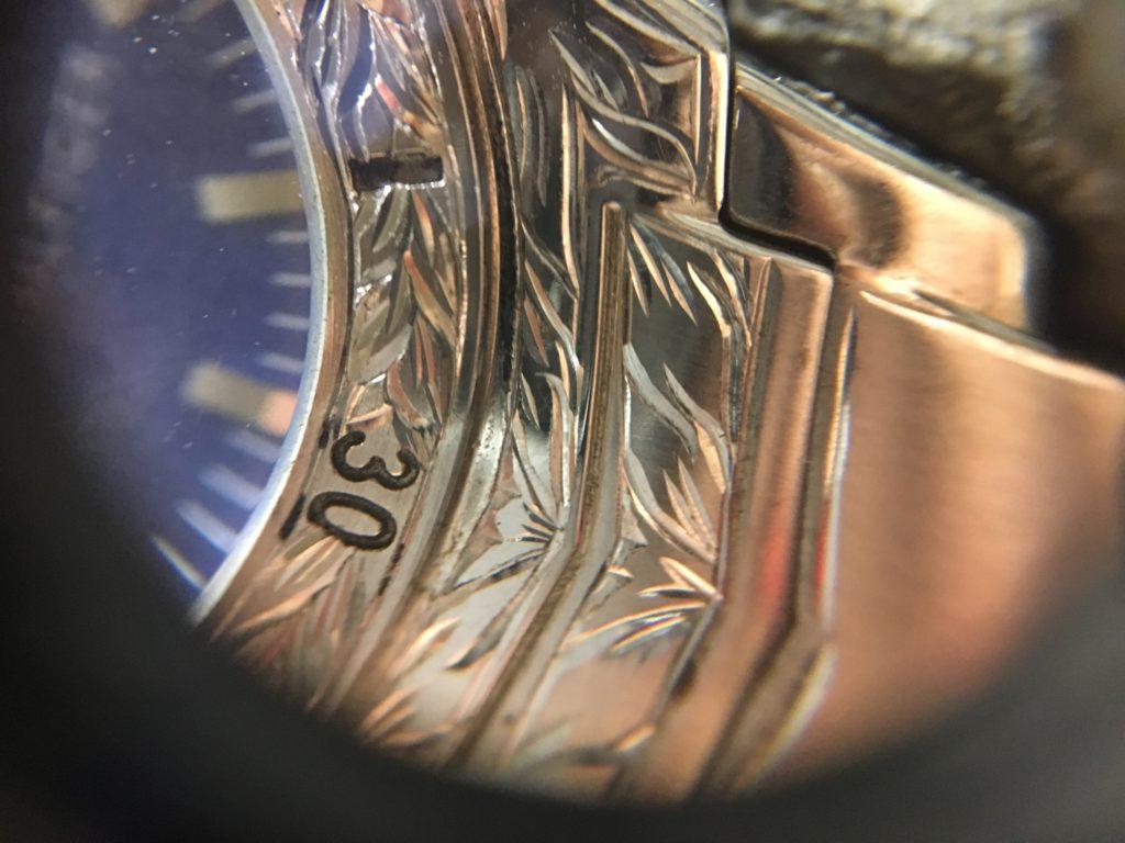 彫金腕時計トミーヒルフィガー