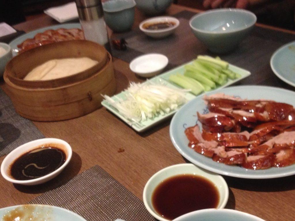北京料理店の北京ダック