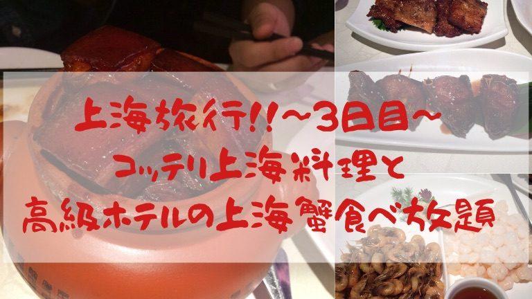 上海旅行3日目アイキャッチ