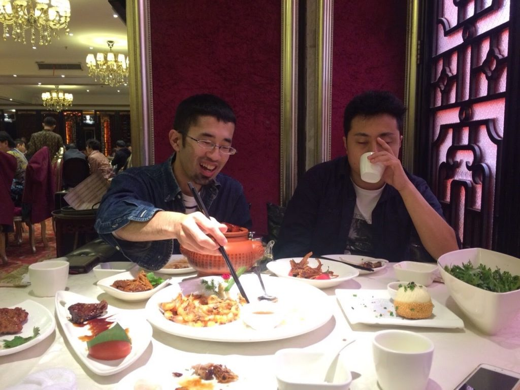上海料理のお店