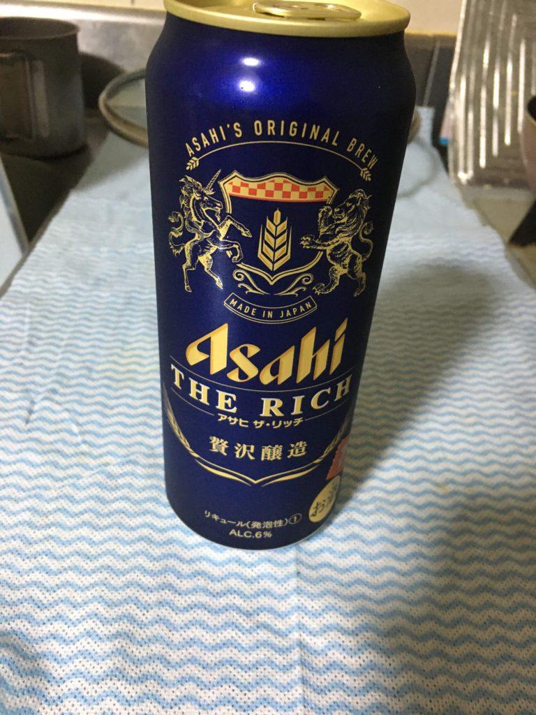 アサヒ・ザ・リッチ500ml缶