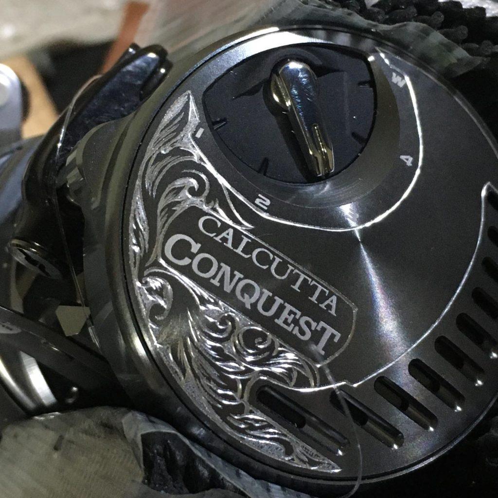 カルカッタコンクエスト100DC彫金過程1