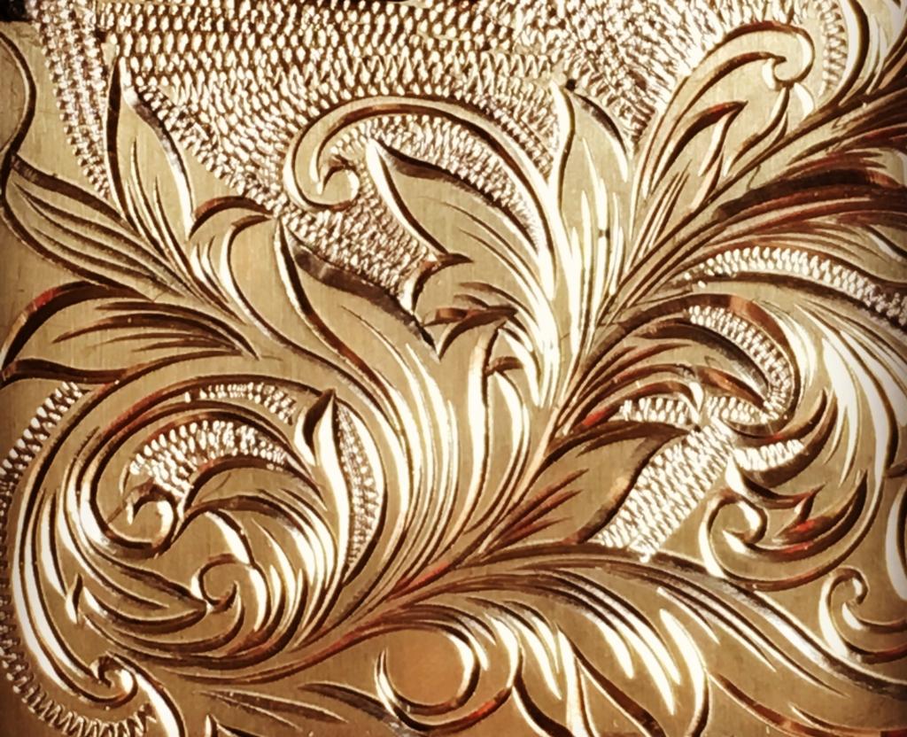 縄模様装飾彫金2