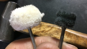 研磨用先端工具タンポポ