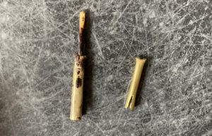 ロウ付け後のペン先