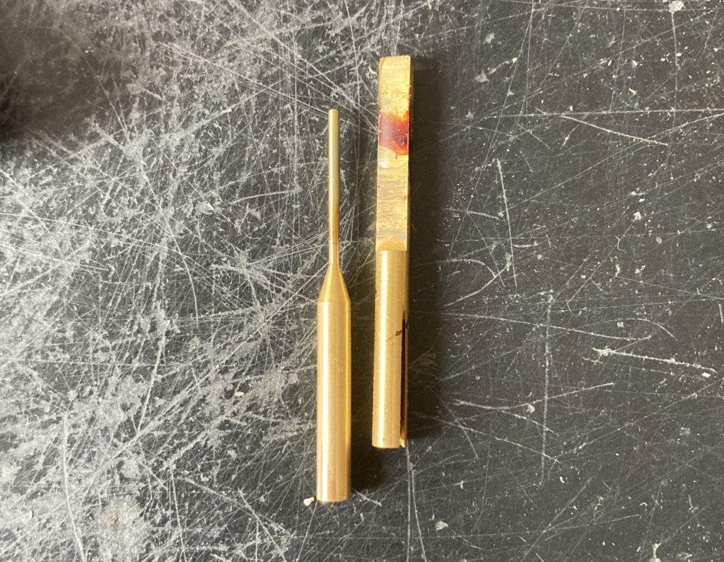ワックスペンにセットでついてきたペン先