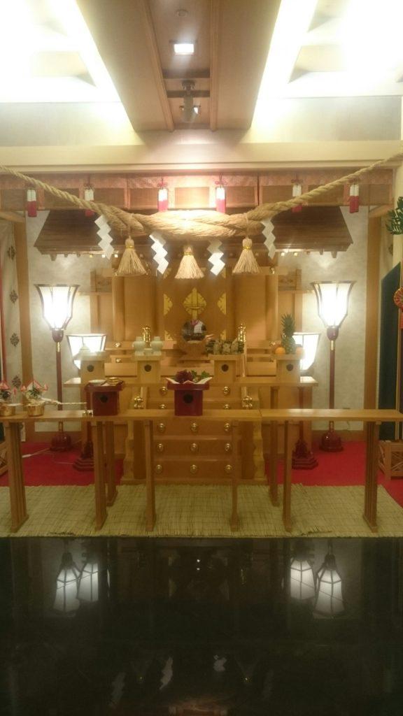 出雲殿の神殿